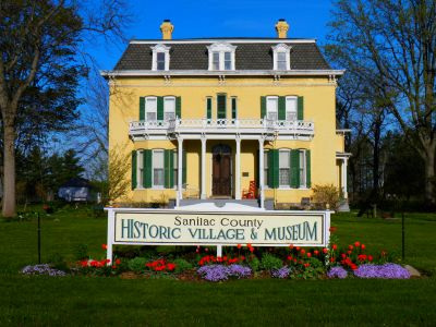 The Sanilac County Historic Village & Museum - Mansion